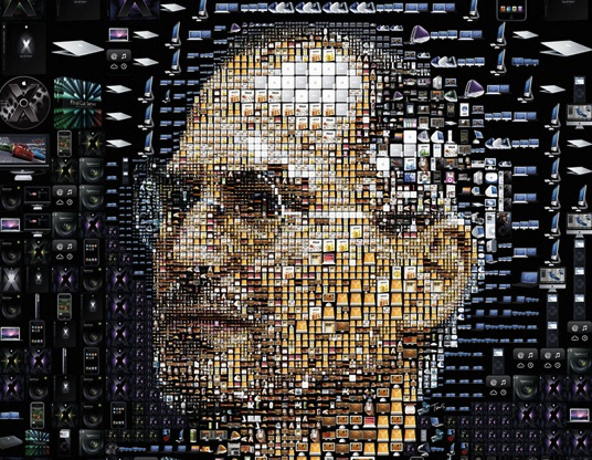 Patchwork Steve Jobs